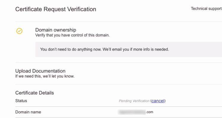 Fig. 05: Purchase SSL Certificate