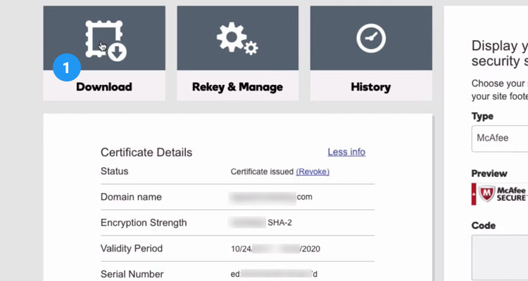 Fig. 07: Purchase SSL Certificate