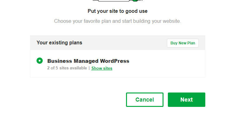 Fig 02 : Setup Managed WordPress Hosting