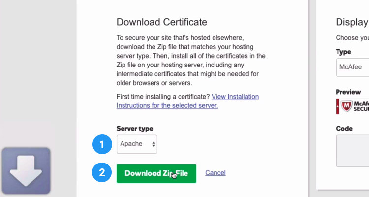 Fig. 07: Rekey SSL Certificate