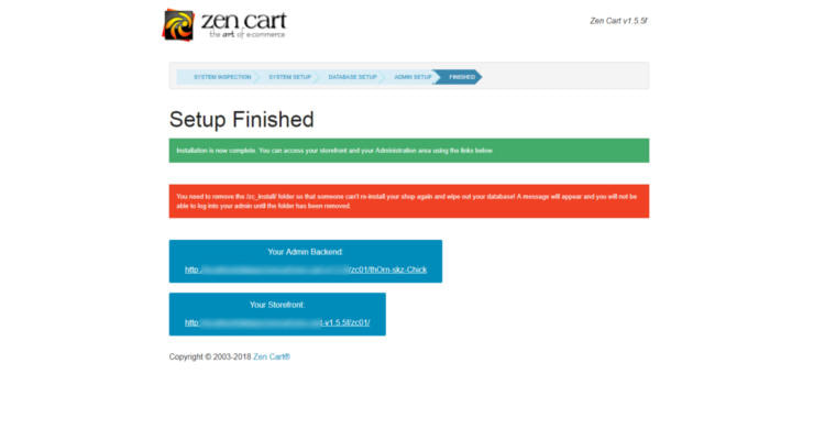 Fig. 06: How to install Zen Cart in cPanel