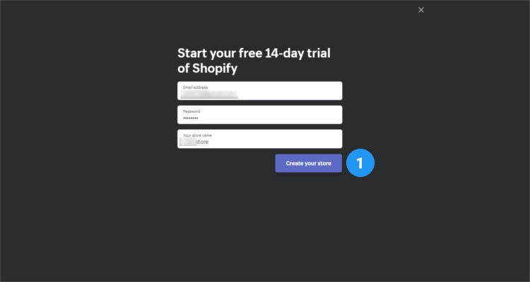 Fig. 02: How to start a Shopify store