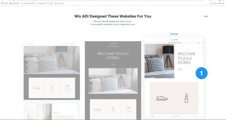 Fig. 14: How to start a Wix online store