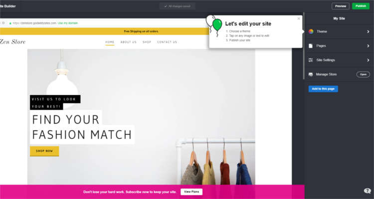 Fig. 04: How to start your own Online Store - First Time Setup
