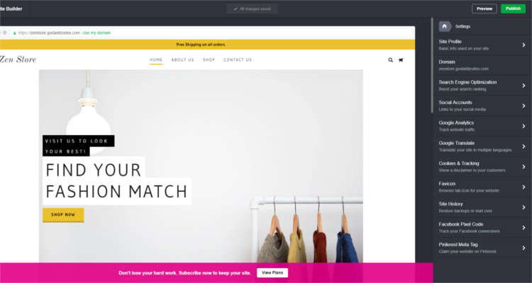 Fig. 05: How to start your own Online Store - First Time Setup