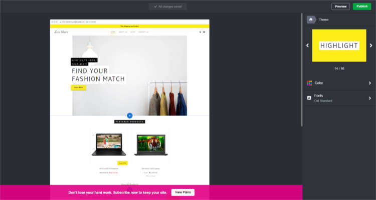 Fig. 06: How to start your own Online Store - First Time Setup