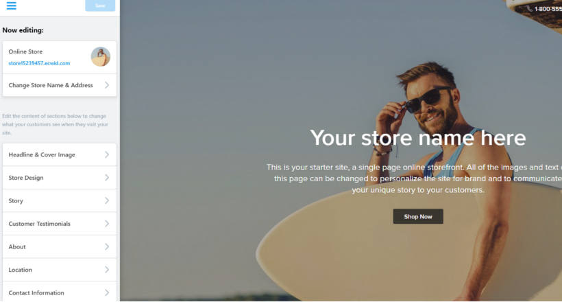 01 How to start an Ecwid online store - Theme Design