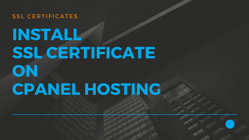 Install SSL Certificate on cPanel Hosting